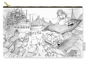 Ali Baba Cover Sketch Carry-all Pouch