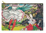 Alice In Wonderland Carry-all Pouch by Jesus Blasco