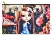 Alice In Wonderland Carry-all Pouch by Mo T