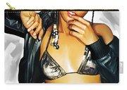 Alicia Keys Artwork 2 Carry-all Pouch by Sheraz A