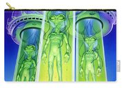 Alien Experiment Carry-all Pouch by Steve Read