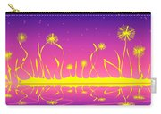 Alien Fire Flowers Carry-all Pouch