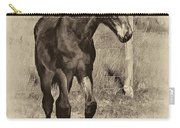 All Legs Sepia Carry-all Pouch