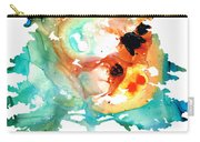 All Seasons Tree 1 - Colorful Landscape Print Carry-all Pouch by Sharon Cummings