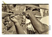 All That Jazz Sepia Carry-all Pouch