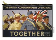 All The Commonwealth Countries Unite. Carry-all Pouch