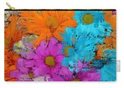All The Flower Petals In This World 2 Carry-all Pouch by Kume Bryant