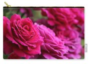 All The Fuchsia Pink Roses  Carry-all Pouch