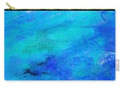 Allegory Blue Carry-all Pouch