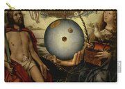 Allegory Of Christianity Oil On Panel Carry-all Pouch