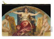 Allegory Of Religious And Profane Painting  Carry-all Pouch