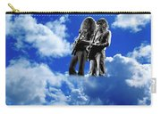 Allen And Steve In Clouds Carry-all Pouch