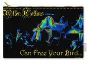 A C Can Free Your Bird #2 Carry-all Pouch