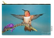 Allens Hummingbird Male Carry-all Pouch