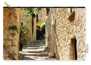 Alley In Eze, France Carry-all Pouch