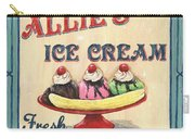 Allie's Ice Cream Carry-all Pouch