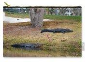 Alligator Hazard Carry-all Pouch