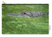 Alligator In Swamp Carry-all Pouch