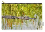 Alligator Reflection Carry-all Pouch by Al Powell Photography USA