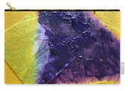 Collage Nr. 11 Alligator River Carry-all Pouch by Jo Ann