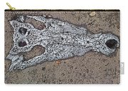 Alligator Skull Fossil 1 Carry-all Pouch