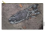 Alligator Skull Fossil 2 Carry-all Pouch