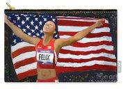 Allison Felix Olympian Gold Metalist Carry-all Pouch
