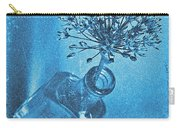 Allium Cyanotype Carry-all Pouch