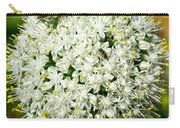 Allium Flower And Lightning Bug Carry-all Pouch