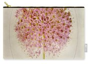 Allium Pink Jewel Carry-all Pouch