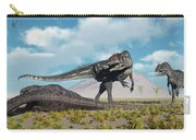 Allosaurus Dinosaurs Approaching Carry-all Pouch