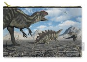 Allosaurus Dinosaurs Moving In To Kill Carry-all Pouch