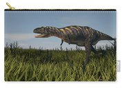Alluring Aucasaurus In Grassland Carry-all Pouch