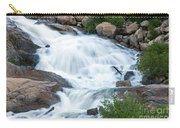 Alluvial Fan Falls On Roaring River In Rocky Mountain National Park Carry-all Pouch