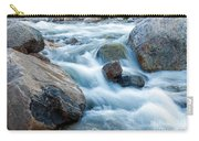 Alluvial Fan Falls On Roaring River Inrocky Mountain National Park Carry-all Pouch