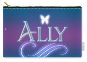 Ally Name Art Carry-all Pouch