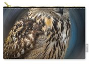 Almeria Wise Owl Living In Spain  Carry-all Pouch