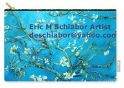 Almond Blossom Branches Carry-all Pouch