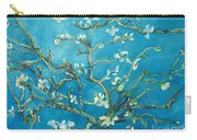 Almond Blossom Branches Print Carry-all Pouch