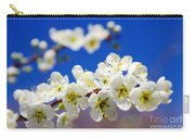 Almond Blossom Carry-all Pouch by Carlos Caetano