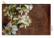 Almond Blossom Carry-all Pouch by Marco Oliveira
