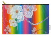Almond Flowers On Spectrum Carry-all Pouch
