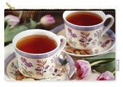 Almond Tea For Two Carry-all Pouch