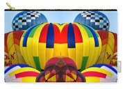 Almost Inflated Hot Air Balloons Mirror Image Carry-all Pouch