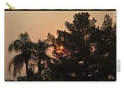 Almosts Gone Now Sunset In Smoky Sky Carry-all Pouch