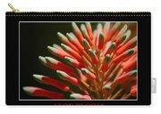 Aloe Bloom Window Carry-all Pouch