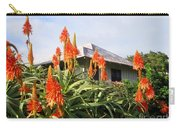 Aloe Vera And Tin Roof Plantation House Carry-all Pouch