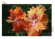 Aloha Keanae Tropical Hibiscus Carry-all Pouch