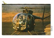 Aloha  Oh-6 Cayuse Light Observation   Helicopter Lz Oasis Vietnam 1968 Carry-all Pouch