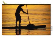 Alone With The Sun Carry-all Pouch by Karen Wiles